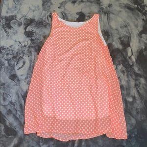 Dresses & Skirts - 3/$25 polkadot tank top dress